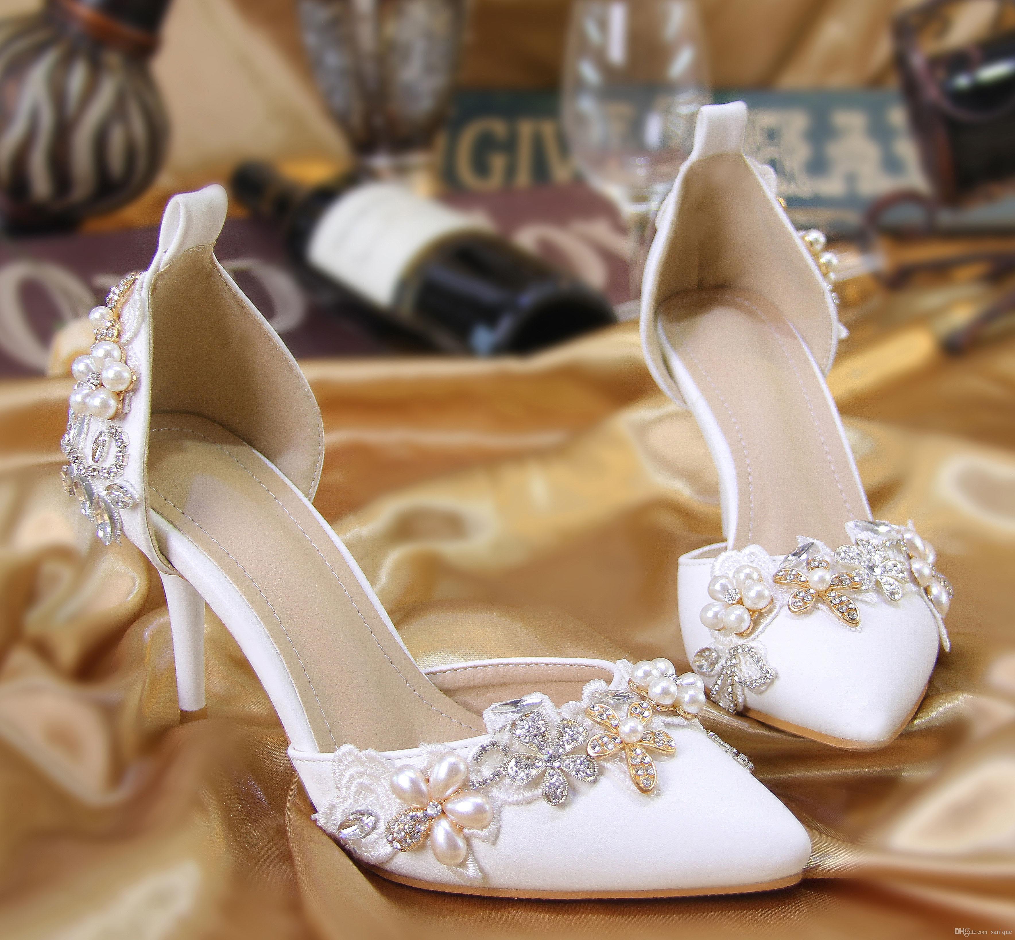 sandálias para noivas com pedras