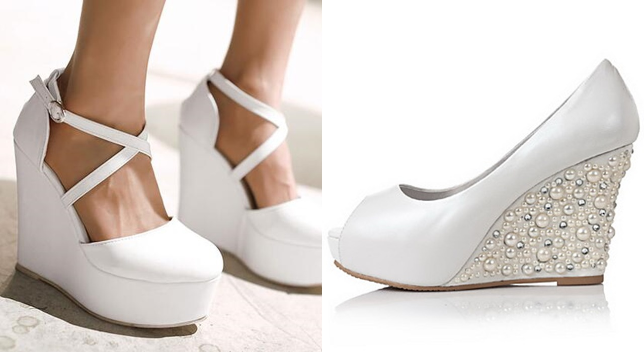 sapatos para noiva plataforma